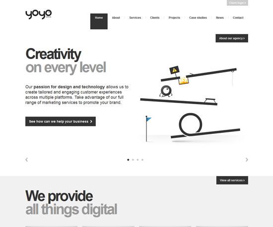 yoyodesign.com Website Design Inspiration