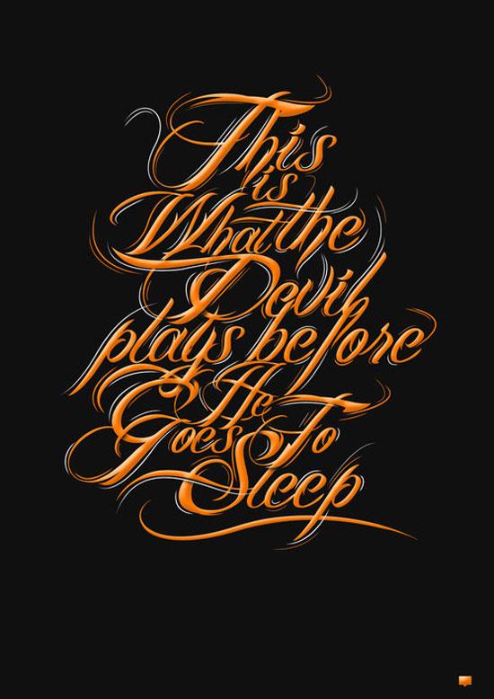 exquisite typography designs to inspire you 50 exles