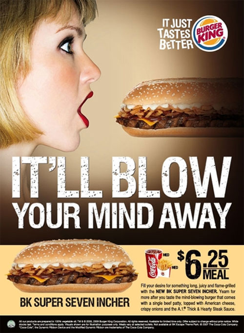 Burger King Advertisement 8