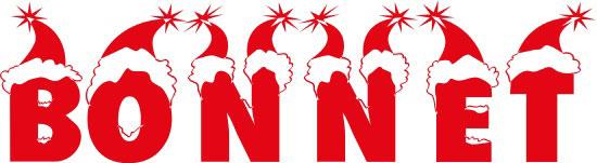 Bonnet Free Winter Or Christmas Font