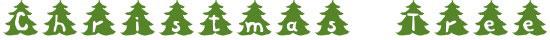 Christmas Tree Free Winter Or Christmas Font