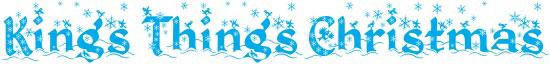 Kings things Christmas Free Winter Or Christmas Font