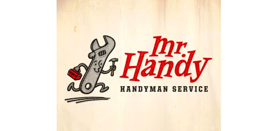 Mr. Handy Logo With Clever Message