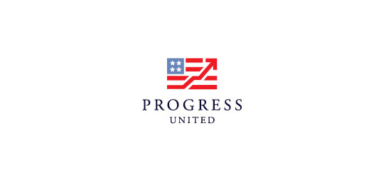 Progress United Logo With Clever Message