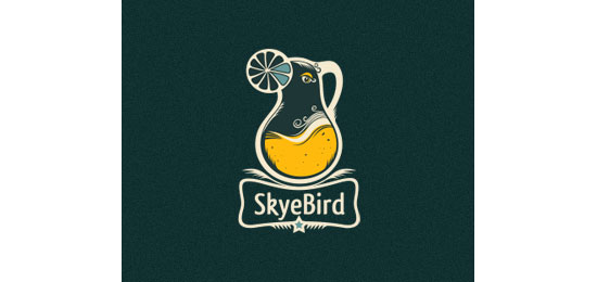 Skyebird Logo With Clever Message