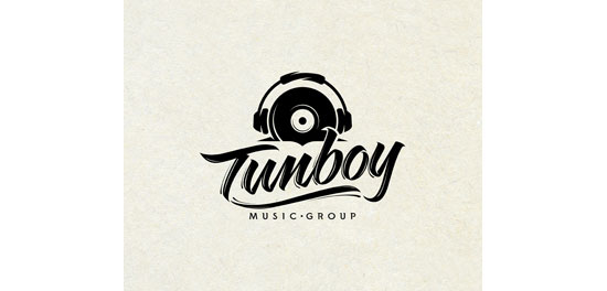 Tunboy Logo With Clever Message