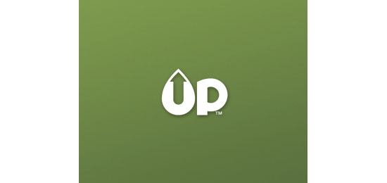 UP Logo With Clever Message