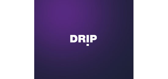 drip Logo With Clever Message