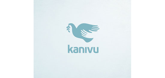 kanivu Logo With Clever Message