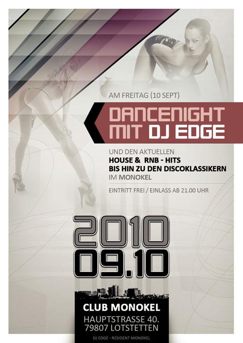 Dancenight Mit Dj Edge