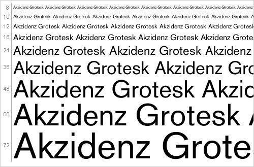 Download Akzidenz Grotesk font
