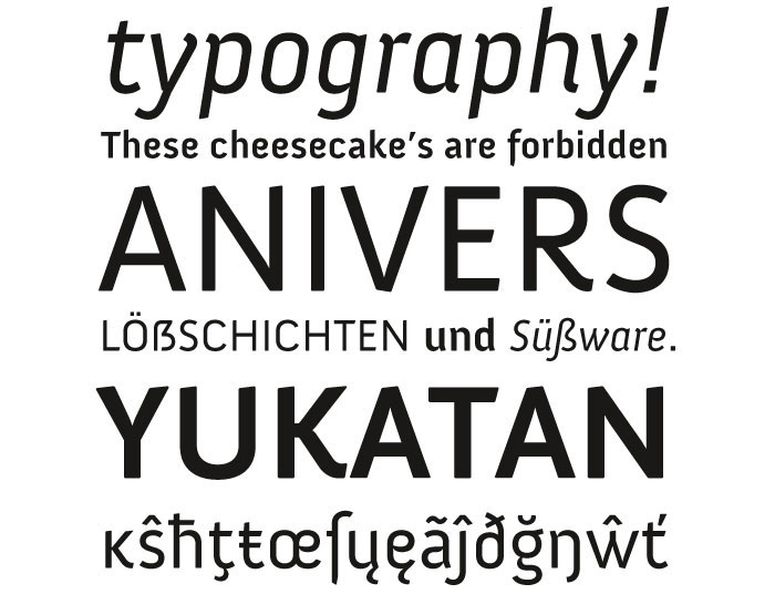 Download Anivers font