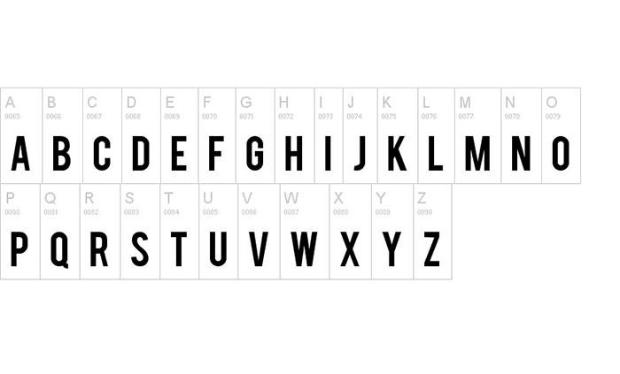 Download Bebas font