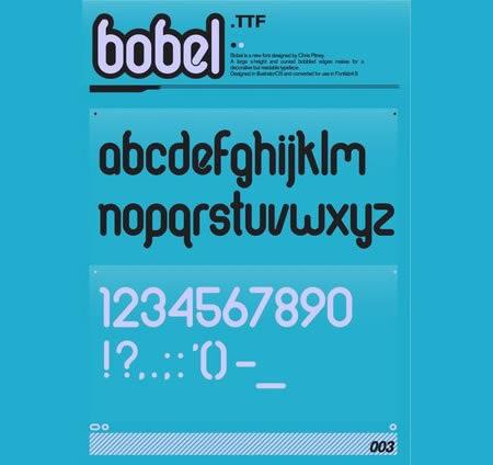Download Bobel font