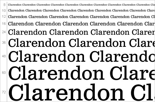 Download Clarendon font