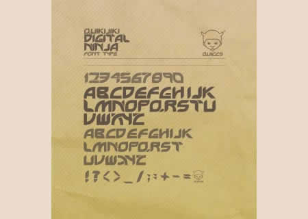 Download Digital Ninja font