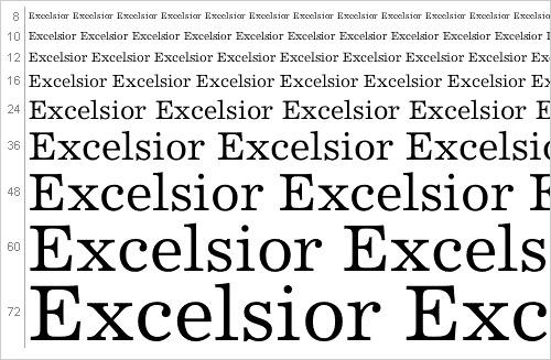 Download Excelsior font