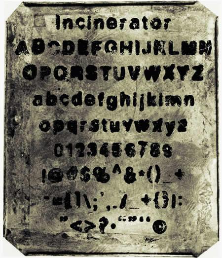Download Incinerator font