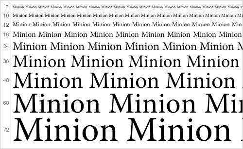 Download Minion font