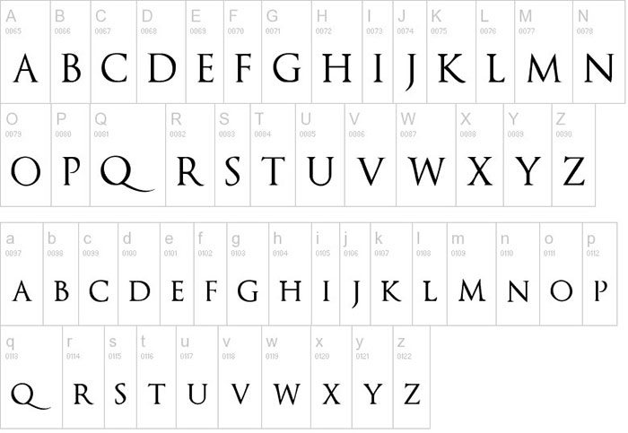 Download Optimus Princeps font