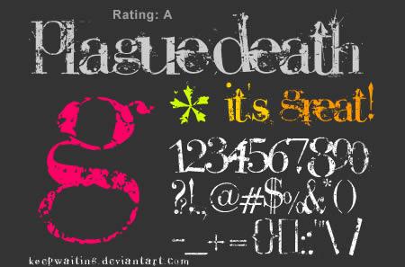 Download Plague Death font