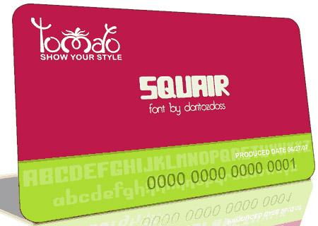 Download Squair font