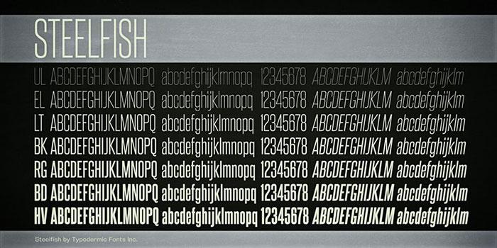 Download Steelfish font