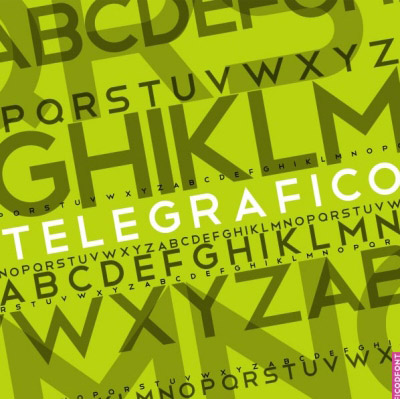 Download telegrafico font