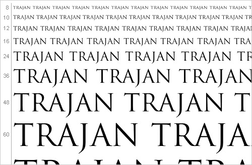 Download Trajan font