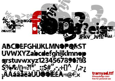 Download tramyad font