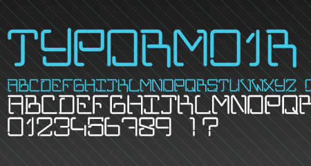Download TYPORM01R font
