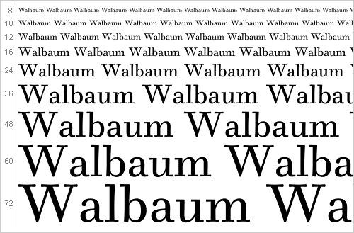 Download Walbaum font