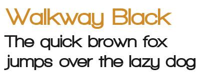 Download Walkway font