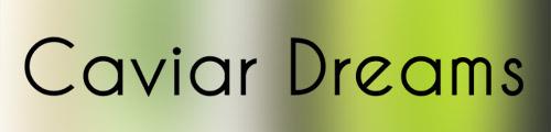 Caviar dreams bold font