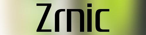zrnic font