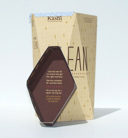 Kashi-Lean-Cereal-Concept Intelligently Made Food Packaging Ideas (100+ Examples)