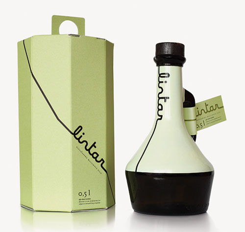 Lintar Olive Oil Package Design