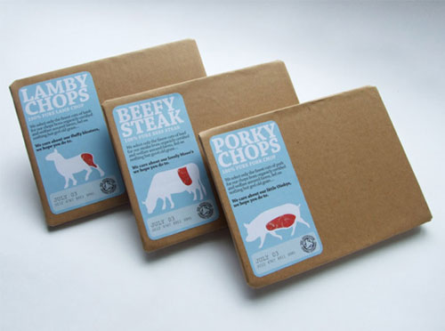 Meaty Package Design