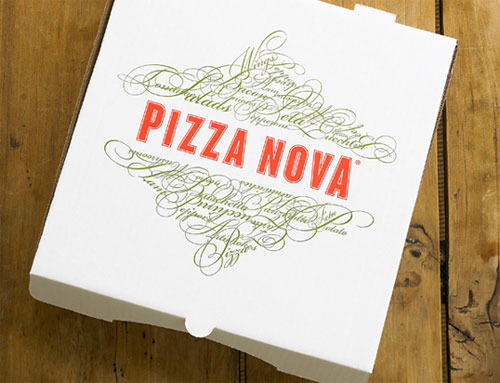 Pizza Nova Package Design