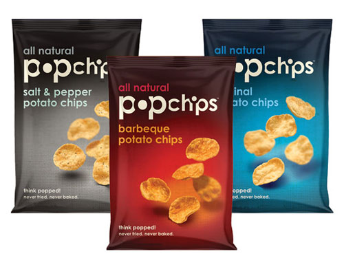 Popchips Package Design