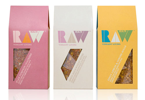 Raw Health Package Design