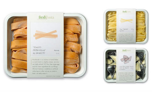 The Fresh Pasta Company Package Design