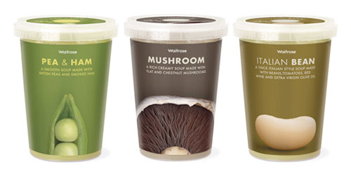 Waitrose-Soup Intelligently Made Food Packaging Ideas (100+ Examples)