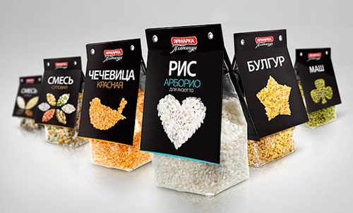 Yarmarka Platinum Package Design