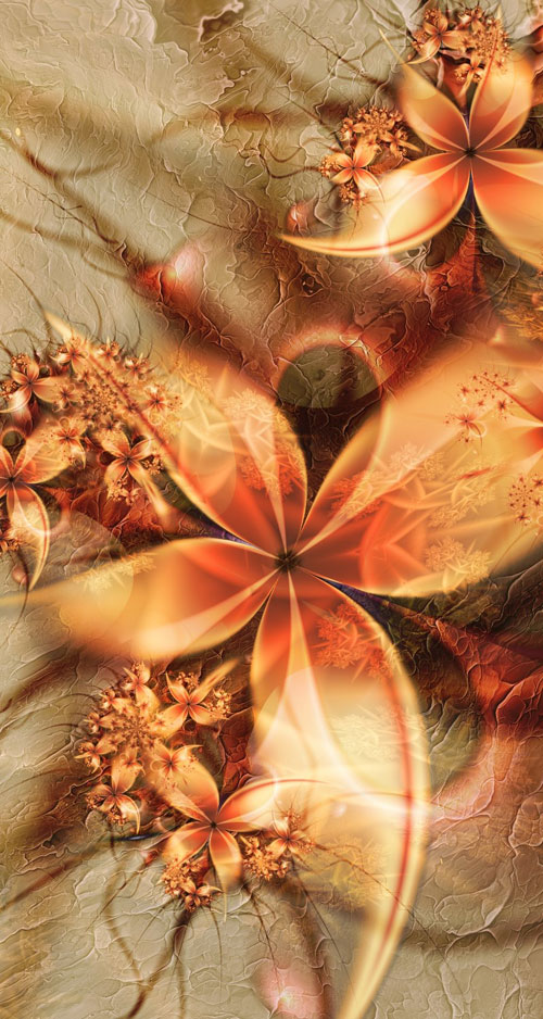 August fractal art