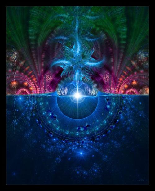 Cauldron fractal art