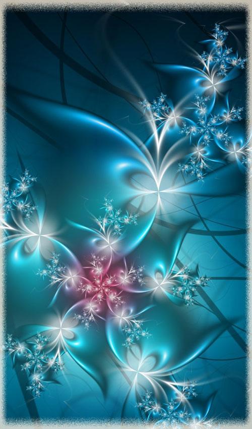 Cold Mornings fractal art