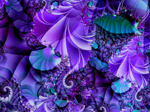 Compelled fractal art