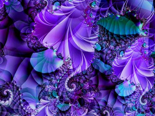 Compelled fractal art