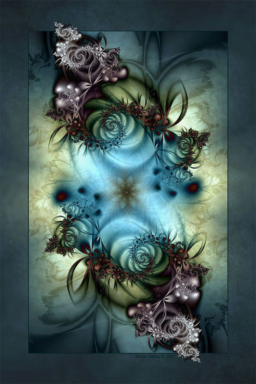 Exclusion with Sadness fractal art